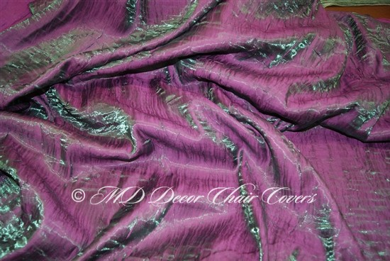 Crush Shimmer Magenta Table Overlay