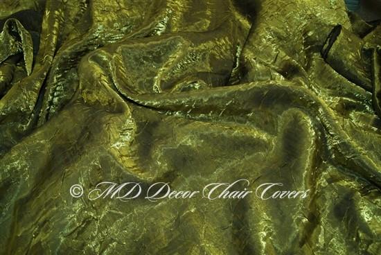 Crush Shimmer Moss Table Overlay
