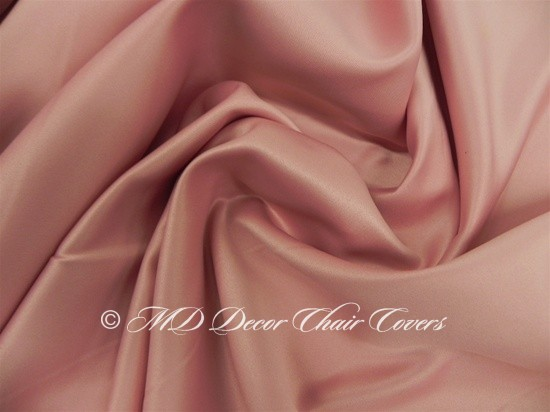 Dusty Rose Satin Lamour