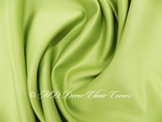 Lime Green Satin Lamour