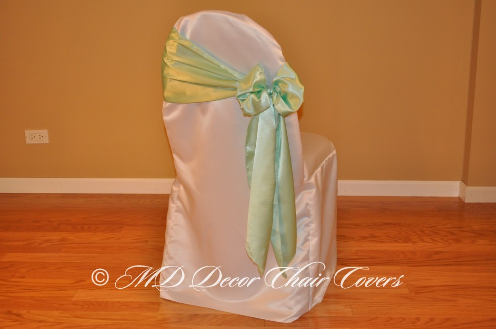 Mint Butterfly Bow Style On The Side