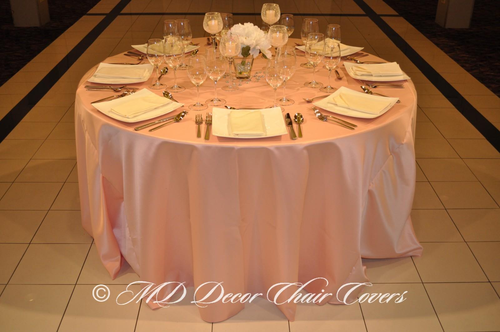 Peach-Satin-Lamour-Tablecloth
