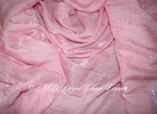 Crush Shimmer Pink Table Overlay