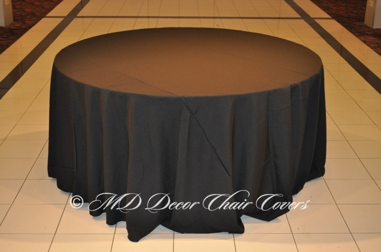 Black-Polyester-Tablecloth