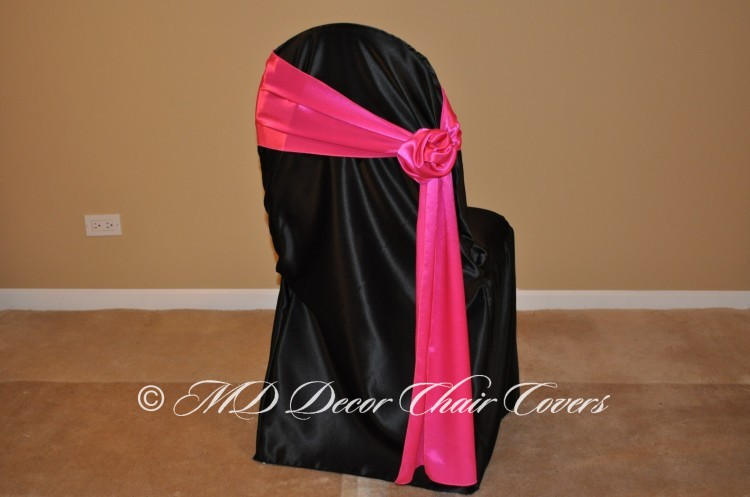 Hot Pink Rose Style On The Side