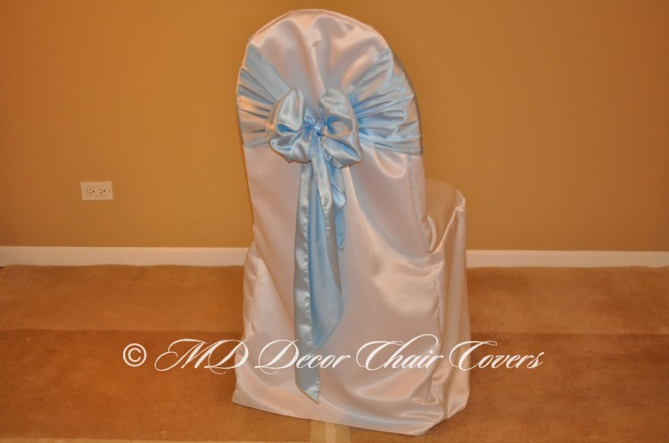 Light Blue Butterfly Bow Style