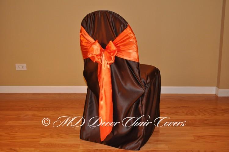 Orange Butterfly Bow Style