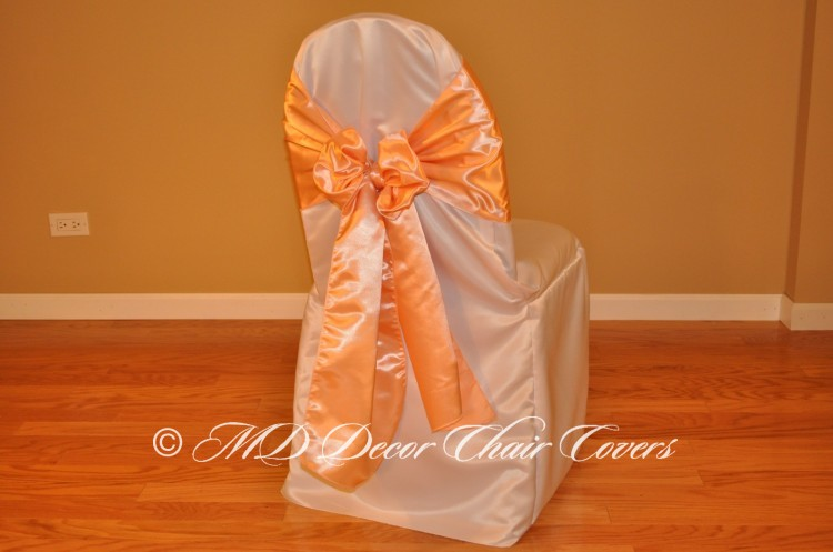 Peach Butterfly Bow Style