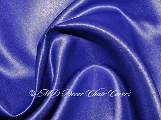 Royal Blue Satin Lamour